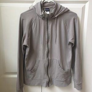 Patagonia Zip Up Cotton Sweatshirt